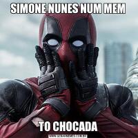 SIMONE NUNES NUM MEMTO CHOCADA