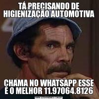 TÁ PRECISANDO DE HIGIENIZAÇÃO AUTOMOTIVACHAMA NO WHATSAPP ESSE É O MELHOR 11.97064.8126