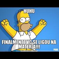 HUHUFINALMENTE VC SE LIGOU NA MATERIA!!!