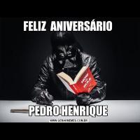 FELIZ  ANIVERSÁRIO PEDRO HENRIQUE