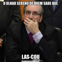 O OLHAR SERENO DE QUEM SABE QUELAS-COU