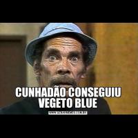 CUNHADÃO CONSEGUIU VEGETO BLUE