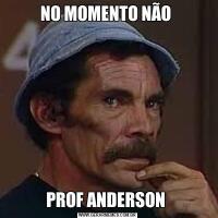 NO MOMENTO NÃO PROF ANDERSON