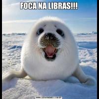 FOCA NA LIBRAS!!!