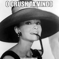O CRUSH TA VINDO