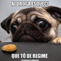 AI DROGA ESQUECIQUE TÔ DE REGIME
