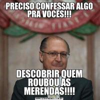 PRECISO CONFESSAR ALGO PRA VOCÊS!!!DESCOBRIR QUEM ROUBOU AS MERENDAS!!!!