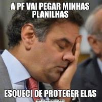 A PF VAI PEGAR MINHAS PLANILHASESQUECI DE PROTEGER ELAS