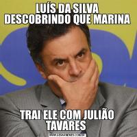 LUÍS DA SILVA DESCOBRINDO QUE MARINATRAI ELE COM JULIÃO TAVARES