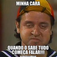 MINHA CARAQUANDO O SABE TUDO COMEÇA FALAR!!!