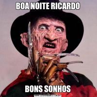 BOA NOITE RICARDOBONS SONHOS