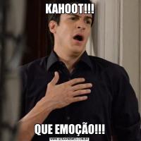 KAHOOT!!!QUE EMOÇÃO!!!