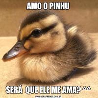 AMO O PINHUSERÁ  QUE ELE ME AMA? ^^