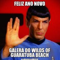 FELIZ ANO NOVOGALERA DO WILDS OF GUARATUBA BEACH