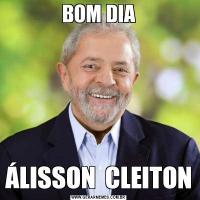 BOM DIAÁLISSON  CLEITON