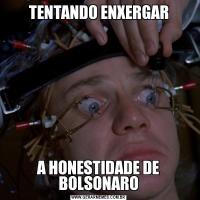 TENTANDO ENXERGARA HONESTIDADE DE BOLSONARO