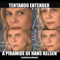 TENTANDO ENTENDER A PIRAMIDE DE HANS KELSEN