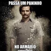 PASSA UM PANINHONO ARMÁRIO