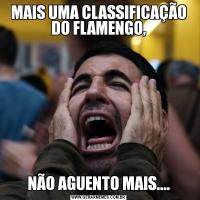 MAIS UMA CLASSIFICAÇÃO DO FLAMENGO,NÃO AGUENTO MAIS....