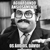AGUARDANDO ANSIOSAMENTE OS ÁUDIOS, DAVID!