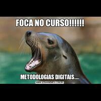 FOCA NO CURSO!!!!!!METODOLOGIAS DIGITAIS....