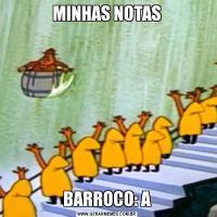 MINHAS NOTASBARROCO: A