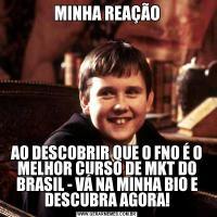 MINHA REAÇÃOAO DESCOBRIR QUE O FNO É O MELHOR CURSO DE MKT DO BRASIL - VÁ NA MINHA BIO E DESCUBRA AGORA!