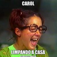 CAROLLIMPANDO A CASA