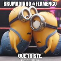 BRUMADINHO #FLAMENGOQUE TRISTE.