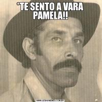 *TE SENTO A VARA PAMELA!!