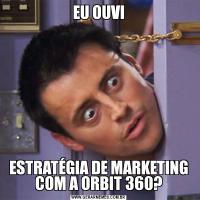 EU OUVIESTRATÉGIA DE MARKETING COM A ORBIT 360?