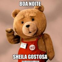 BOA NOITE SHEILA GOSTOSA