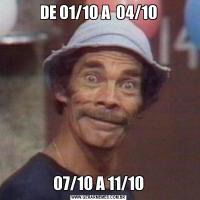 DE 01/10 A  04/1007/10 A 11/10