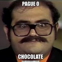 PAGUE OCHOCOLATE