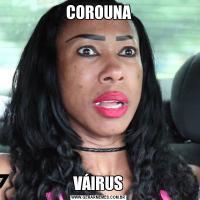 COROUNAVÁIRUS