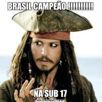 BRASIL CAMPEÃO !!!!!!!!!!NA SUB 17