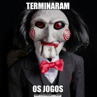 TERMINARAMOS JOGOS