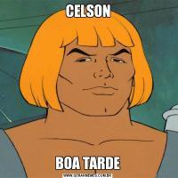 CELSONBOA TARDE
