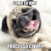 COMO EU AMO PROCESSO CIVIL!!!