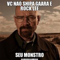 VC NAO SHIPA GAARA E ROCK LEESEU MONSTRO