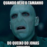 QUANDO VEJO O TAMANHODO QUEIXO DO JONAS