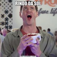 RINDO DA SOL