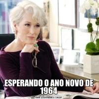 ESPERANDO O ANO NOVO DE 1964