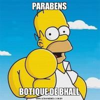 PARABENSBOTIQUE DE BHALL