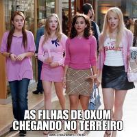 AS FILHAS DE OXUM CHEGANDO NO TERREIRO