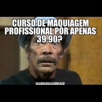 CURSO DE MAQUIAGEM PROFISSIONAL POR APENAS 39,90?