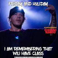 friday and holidayi am remembering that wili have class