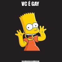 VC É GAY