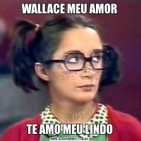 WALLACE MEU AMORTE AMO MEU LINDO