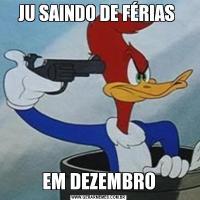 JU SAINDO DE FÉRIAS EM DEZEMBRO